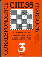 Correspondence chess yearbook 3. 1991. 241 pp ill. presentazione in italiano e in inglese.